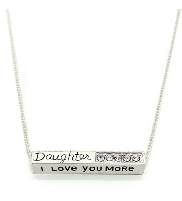 Love More Daughter Pendant Necklace - CU120248MPZ