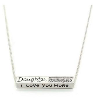 Love More Daughter Pendant Necklace - CU120248MPZ