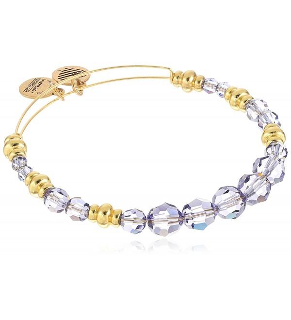 Swarovski Beaded Royal Expandable Wire Bangle Bracelet