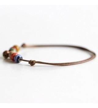Adjustable Bohemian Handmade Barefoot Bracelet in Women's Anklets