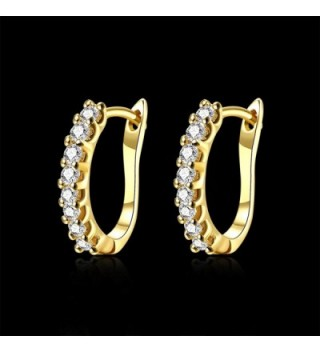 Earrings Zirconia Schtrops Leverback Closure