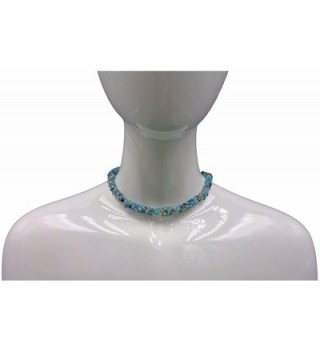 BjB Faceted Beaded Infinity Necklace in Women's Strand Necklaces