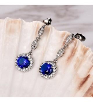 Earrings Cubic Zirconia Women Wedding in Women's Drop & Dangle Earrings