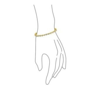 Bling Jewelry Teardrop Zirconia Bracelet