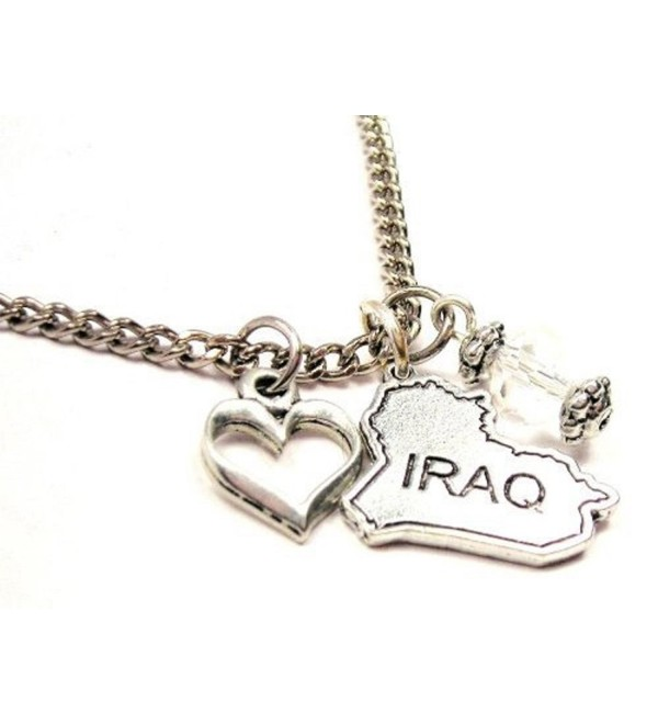 "Iraq 18"" Fashion Necklace - CU11DRDR6I3"