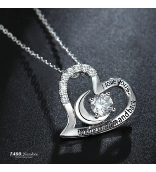 T400 Jewelers Sterling Pendant Necklace