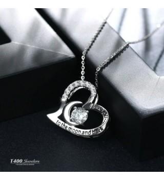 T400 Jewelers Sterling Pendant Necklace in Women's Pendants