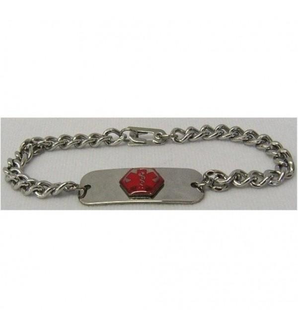 Epilepsy Medical Id Jewelry Bracelet - CR111CDE66F