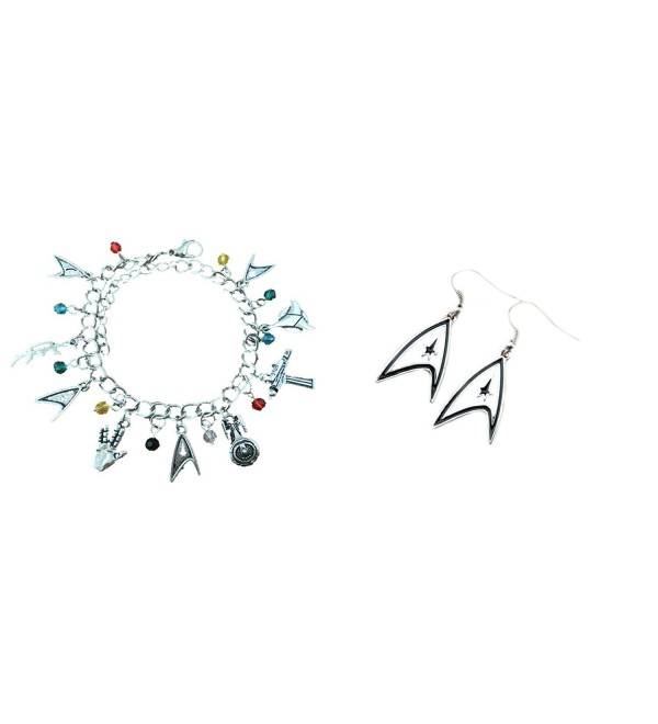 Star Trek 2-Pack Bracelet & Earrings in Gift Box by Superheroes - CE17X0HSA8W