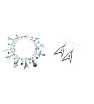 Star Trek 2-Pack Bracelet & Earrings in Gift Box by Superheroes - CE17X0HSA8W