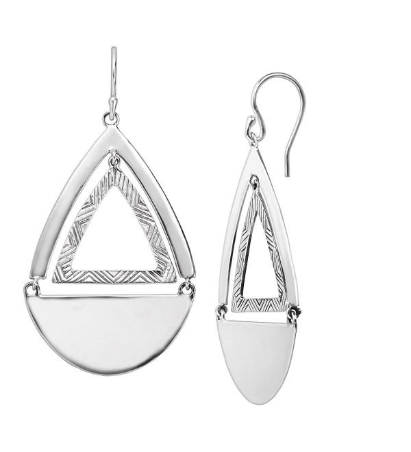 Silpada 'Good Shape' Sterling Silver Drop Earrings - CG12N9L6HXD
