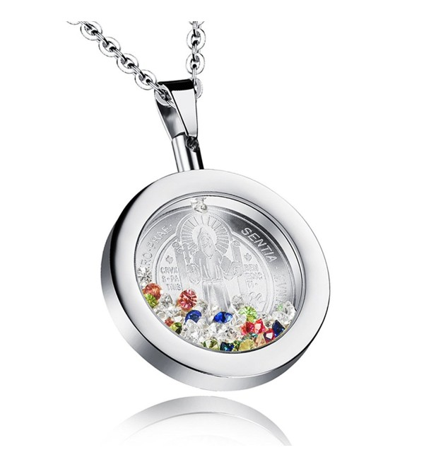 Apopo Cross Necklace Exorcism Chain faith pendant - silver - CK1890GX5OK