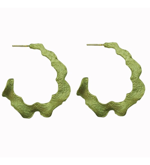 Michael Michaud Retired Curly Pods Post Hoop Earrings 3104 BZ Retail $48 - CC11UBCPBPD