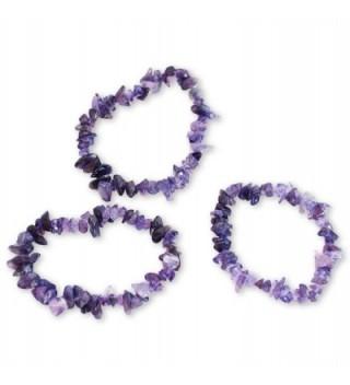 NOVICA Amethyst Beaded Bracelet 'Wonders' - CG12H72BPPJ