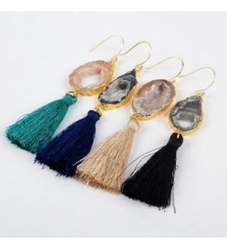 JAB Plated Irregular Natural Earrings in Women's Drop & Dangle Earrings