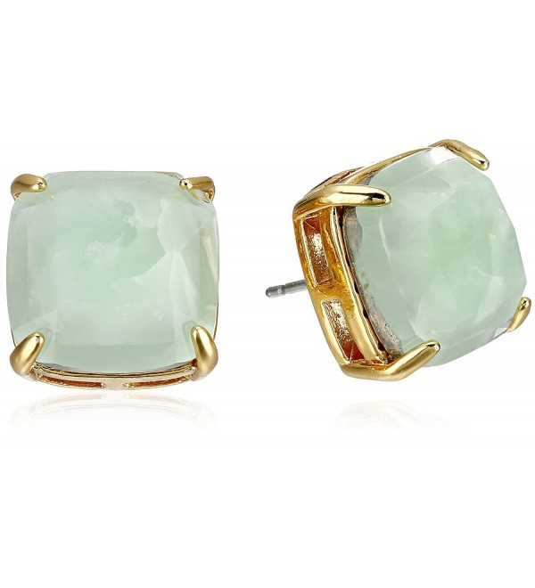 kate spade new york Small Square Stud Earrings - Amazonite - CZ1117AP79R