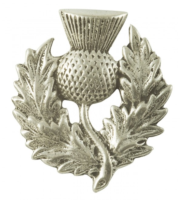 Heavy Scottish Thistle Pewter Pin - C3112G6QTIP
