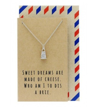 Quan Jewelry Gifts for Mom- Funny Gifts- Cheese Grater Necklace on Funny Quote Card- 16 inches to 18 inches - CI12MQ3SDPT