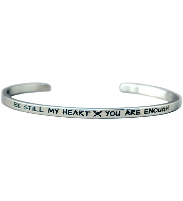 Be Still My Heart- You Are Enough - Stainless Steel - C512O5F43YY