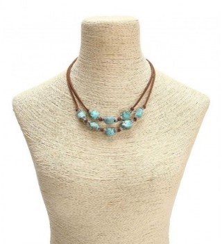 Yunhan Strands Turquoise Necklace Genuine