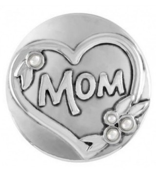 Ginger Snaps Pearl Mom SN02-16 (Standard Size) Interchangeable Jewelry Snap Accessory - C512BNZY3WD