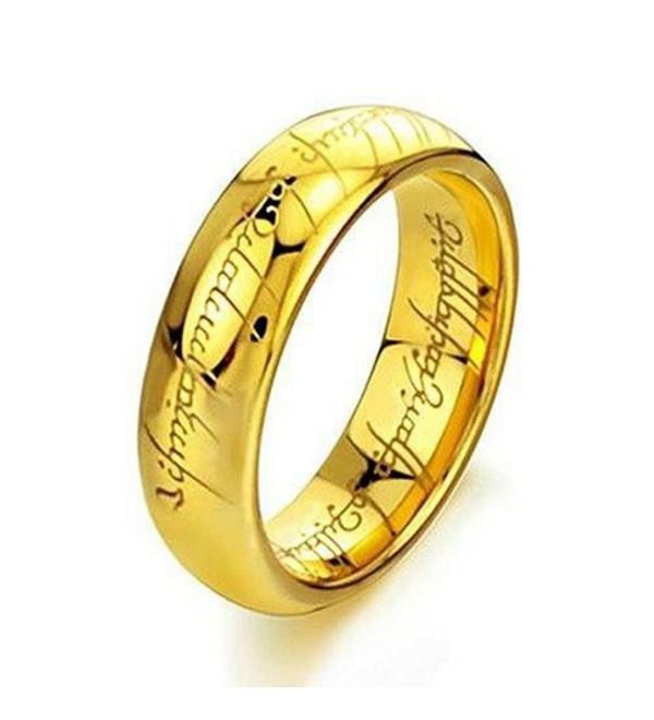 Elove Jewelry Tungsten Carbide Steel Lord Rings - CF11DAEMI63