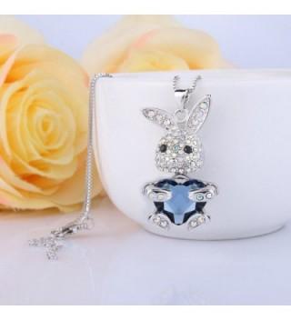 EleQueen Silver tone Necklace Swarovski Crystals