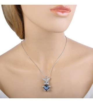EleQueen Silver tone Necklace Swarovski Crystals in Women's Jewelry Sets