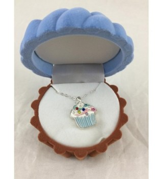 Cupcake Cuties Enamel Pendant Necklace in Figural Gift Box (Sold Individually) - CU111AYC5V3
