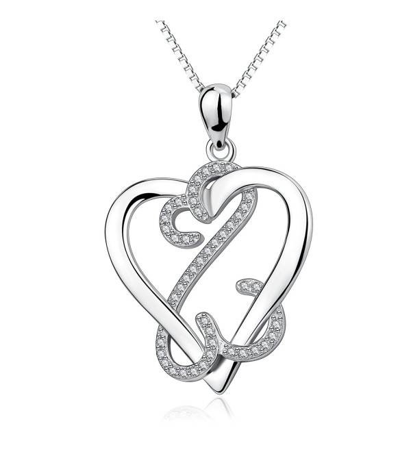 YFN Valentines Sterling Infinite Necklace - CQ17YQZECUH