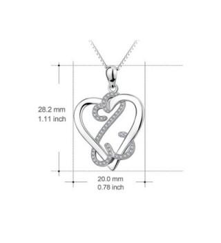 YFN Valentines Sterling Infinite Necklace in Women's Pendants