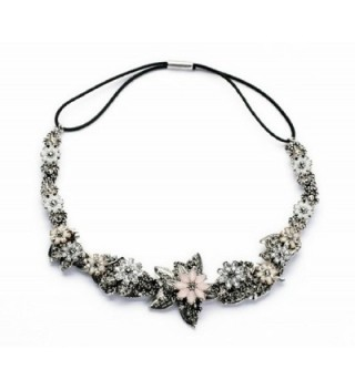 Fun Daisy Weave Handmade Pinky Flower Lady Fashion Necklace - xl00867 - CN11MKXS2ON