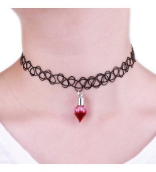 Paialco Womens Vampire Stretch Necklace in Women's Choker Necklaces