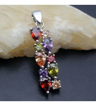 Jewelry Pendants Morganite Amethyst Pendant in Women's Pendants