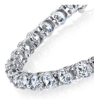 Wonderful Zirconia Tennis Bracelet Measures in Women's Tennis Bracelets