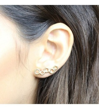 Crawler Earrings Circles Climbers Birthday