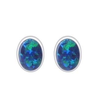 Gem Avenue Sterling Gemstone Earrings