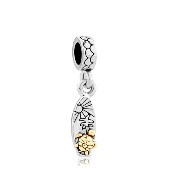 Q&Locket Sun Tree Turtle Charm Dangle Bead For Bracelet - CF17Z3HCZRD