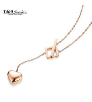 T400 Jewelers Titanium Pendant Necklace in Women's Y-Necklaces