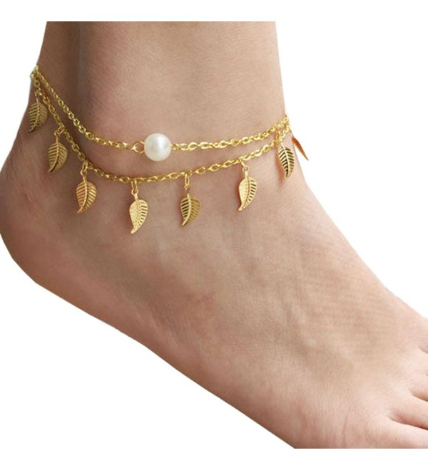 Susenstone Women Anklet Ankle Bracelet Beach Foot Jewelry - C712D3MR6KZ