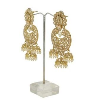 MUCHMORE Fashion Crystal Earring Jewelry in Women's Drop & Dangle Earrings