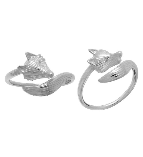 Boma Sterling Silver Fox Ring - C912DLO440F