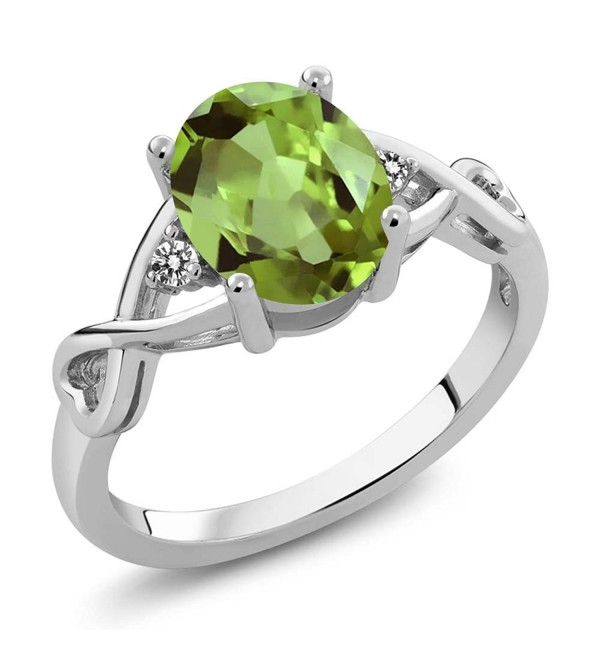 Sterling Peridot Gemstone Birthstone Available - CG12BNJOLOJ