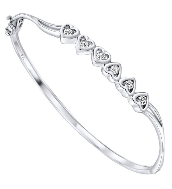Sterling Bracelet Zirconia Platinum Manufacturers - C712NG69V4D