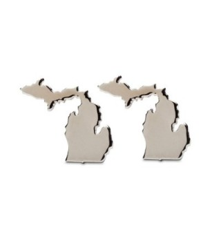 Michigan Earrings | Michigan Map Stud Earrings | Michigan Jewelry | Michigan Gifts | Stainless Steel | Product - C412MYQRL3L