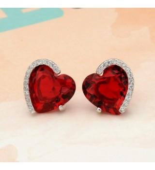 EleQueen Sterling Zirconia Forever Earrings