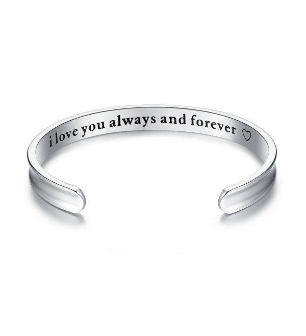 Bracelets Daughter Girlfriend Christmas Anniversary - forever-silver - CD185A3G3YA
