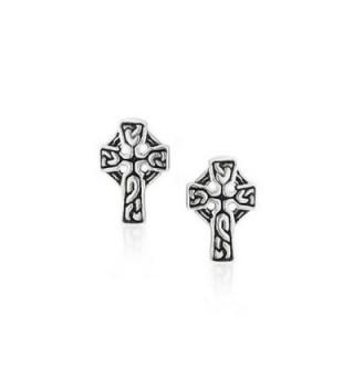 Bling Jewelry Celtic earrings Sterling in Women's Stud Earrings