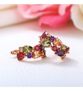 Kemstone Crystal Earrings Fashion Jewelry in Women's Hoop Earrings
