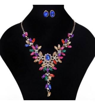 Fashion Crystal Necklace Jewelry Statement in Women's Anklets